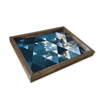 Tavă din lemn Germanos, 30x40cm imagine