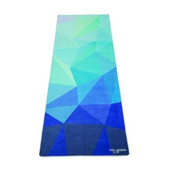 Prosop pentru yoga Yoga Design Lab Geo Blue imagine