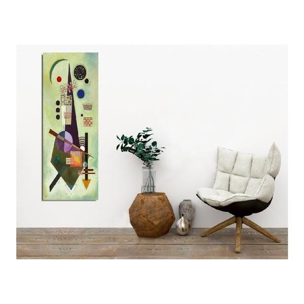 Nástěnný obraz na plátně Cubism, 30 x 80 cm