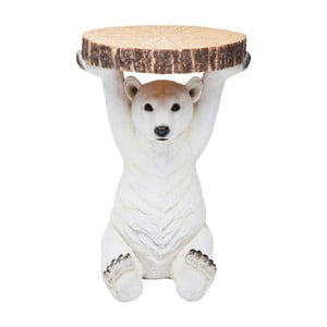 Příruční stolek Kare Design  Polar Bear