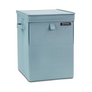 Mátový stohovatelný box na prádlo Brabantia Hit Mint, 35l
