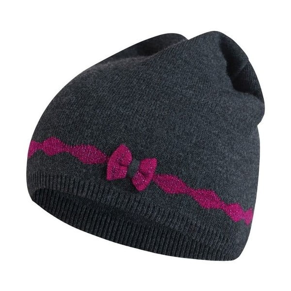 Čepice Alina Grey/Pink