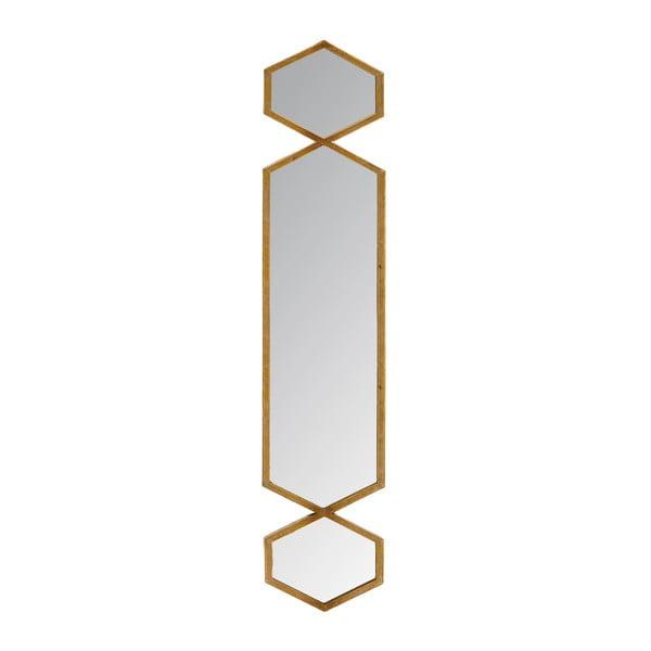 Zrcadlo Trio Gold, 21x101 cm