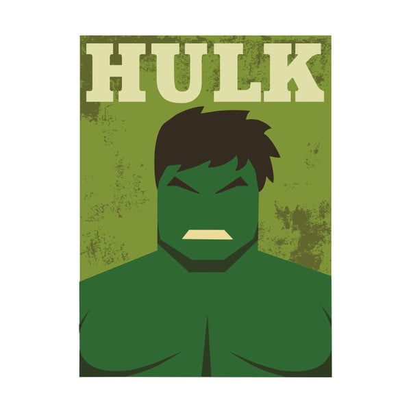 Super Heroes Hulk poszter, 30 x 40 cm - Blue-Shaker