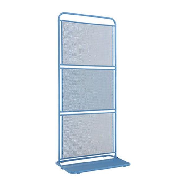 Paravan metalic pentru balcon ADDU MWH, 180 x 80 cm, albastru