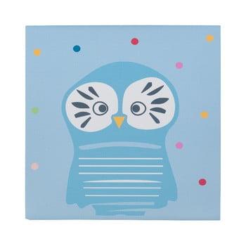 Tablou KICOTI Owl, 40 x 40 cm, multicolor de la KICOTI