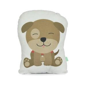 Polštářek z čisté bavlny Happynois Airdog, 40x30 cm