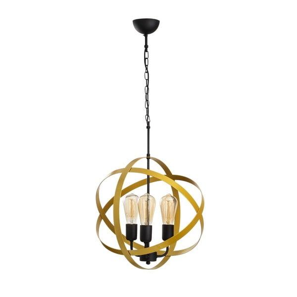 Irina arany-fekete fém függőlámpa - Opviq lights
