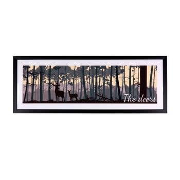 Tablou Sømcasa The Deers, 80 x 30 cm