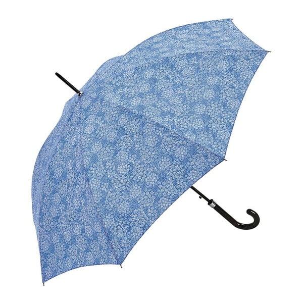 Niebieski parasol Ambiance Lilacs In Rain, ⌀ 122 cm