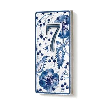 Placă număr casă din ceramică The Mia 7
