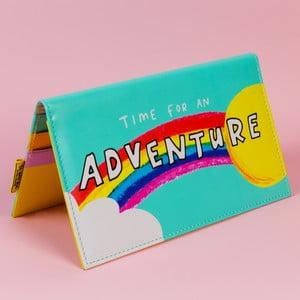 Cestovní obal na doklady a karty Happy News Lets Go On An Adventure