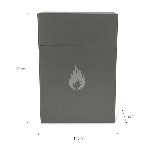 Úložný box na podpalovač Garden Trading Firelighter