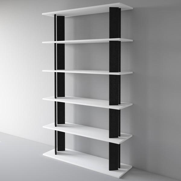 Knihovna Replay 186x110 cm, černá