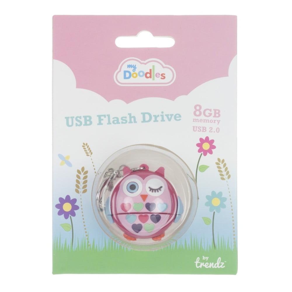 Dětský USB flash disk My Doodles Owl 040e39182bd