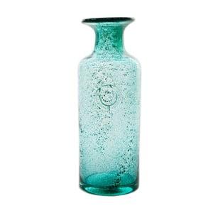 Skleněná karafa/váza Carage, tyrkysová