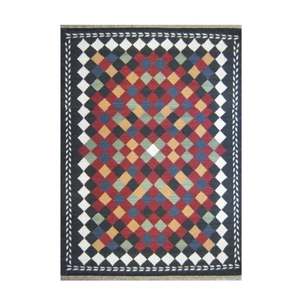 Vlněný koberec Kosak Mixed, 140x200 cm