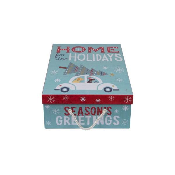 Sada 3 ks boxů Tri-Coastal Happy Holidays