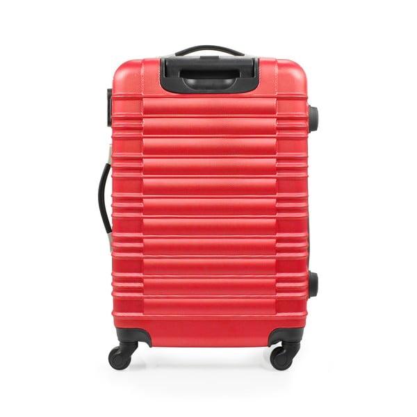 Sada 3 kufrů Gull, červená