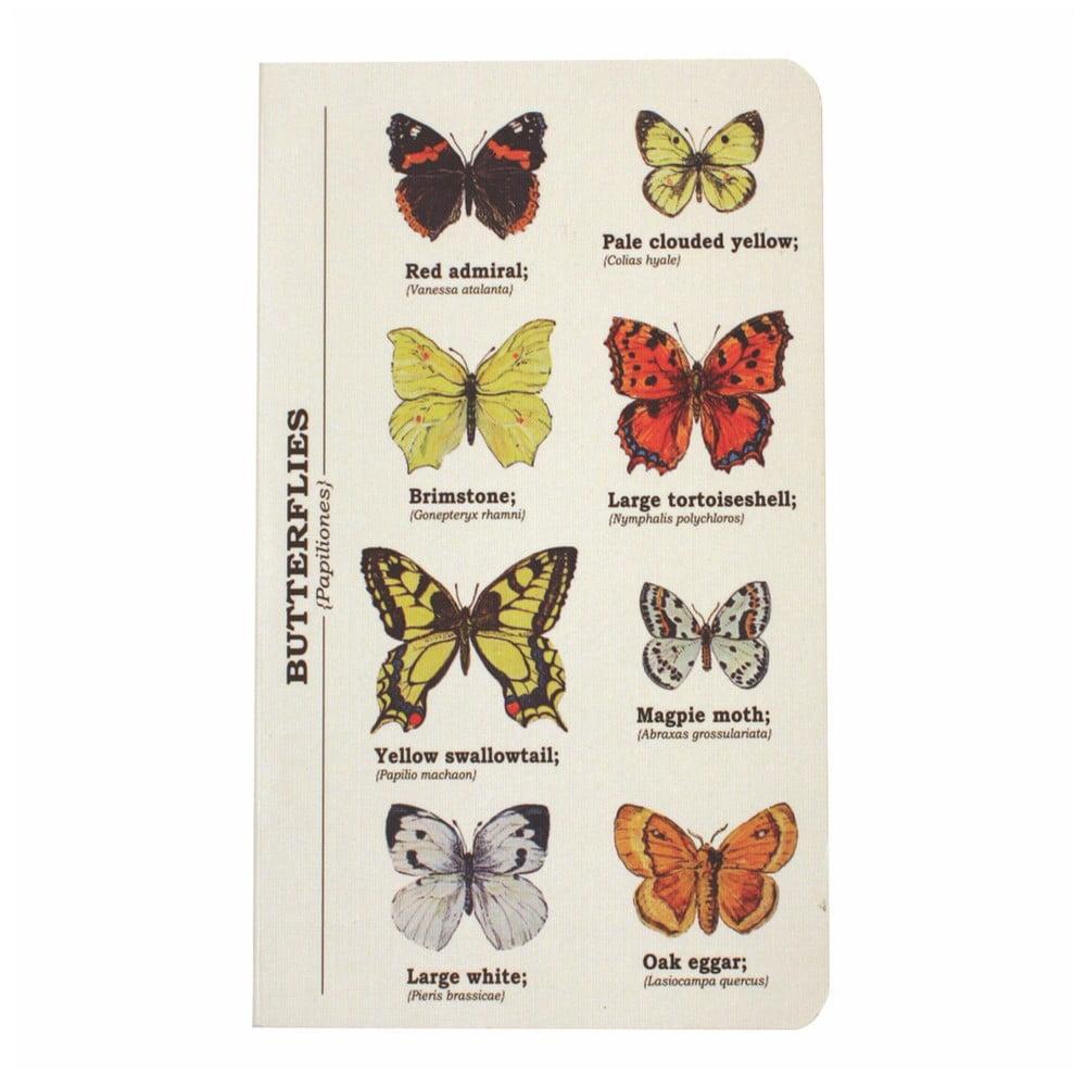 Zápisník Gift Republic Multi Butterflies, vel.A6