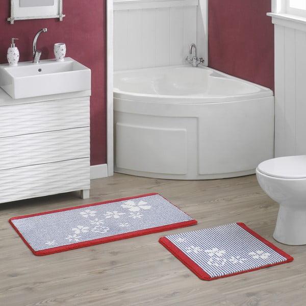Sada 2 koupelnových předložek Thalassia