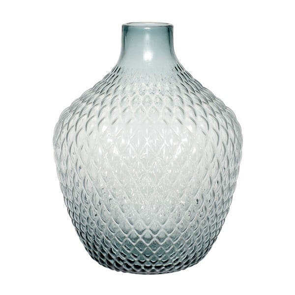 Skleněná váza Hübsch Lajulo, výška 38 cm