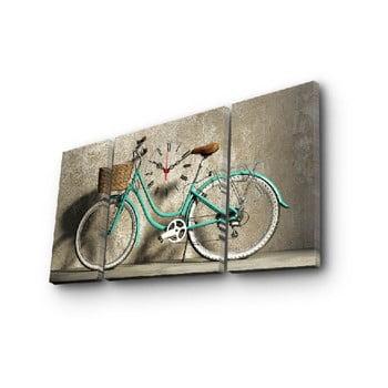 Ceas de perete cu imagine Kolo, 84 x 45 cm