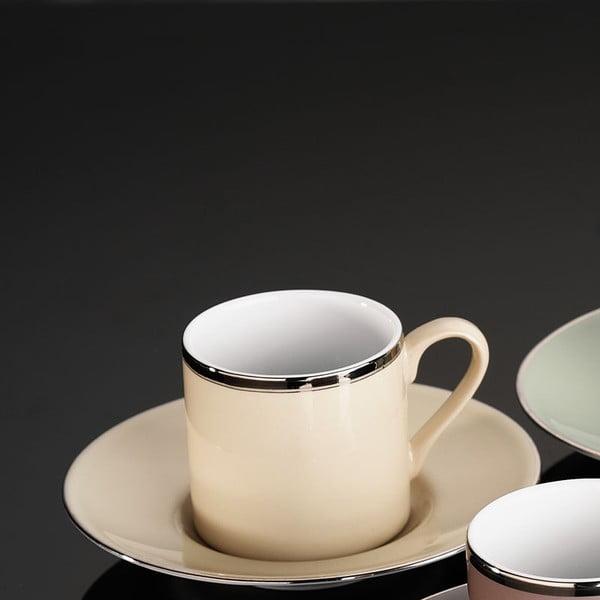 Sada 6 hrníčků na kávu Pray Tone, 50ml