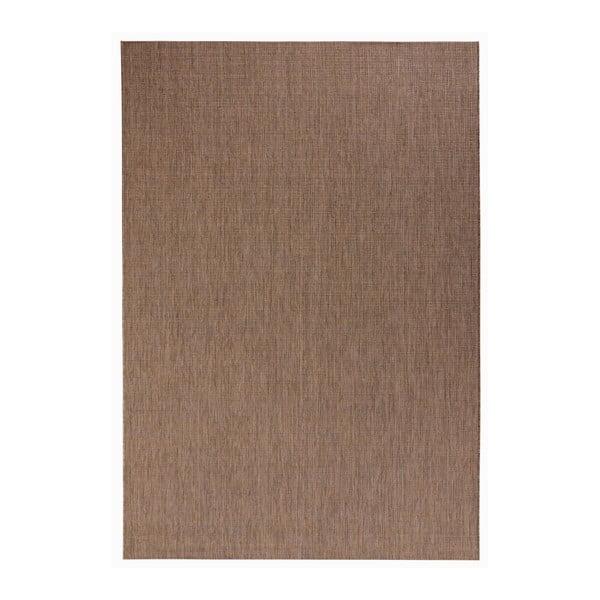 Hnedý koberec vhodný aj do exteriéru Match, 160×230 cm