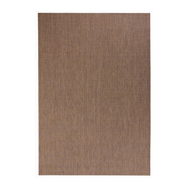 Hnědý koberec vhodný do exteriéru Bougari Match, 200x290cm