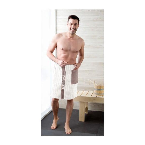 Pánský sarong White, 50x136 cm