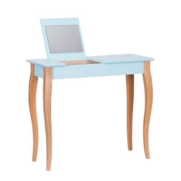 Dressing Table világostürkiz fésülködőasztal tükörrel, hosszúság 85 cm - Ragaba