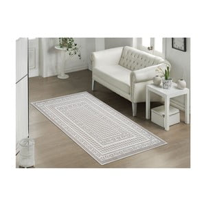 Béžový odolný koberec Vitaus Olvia Bej, 100x200cm