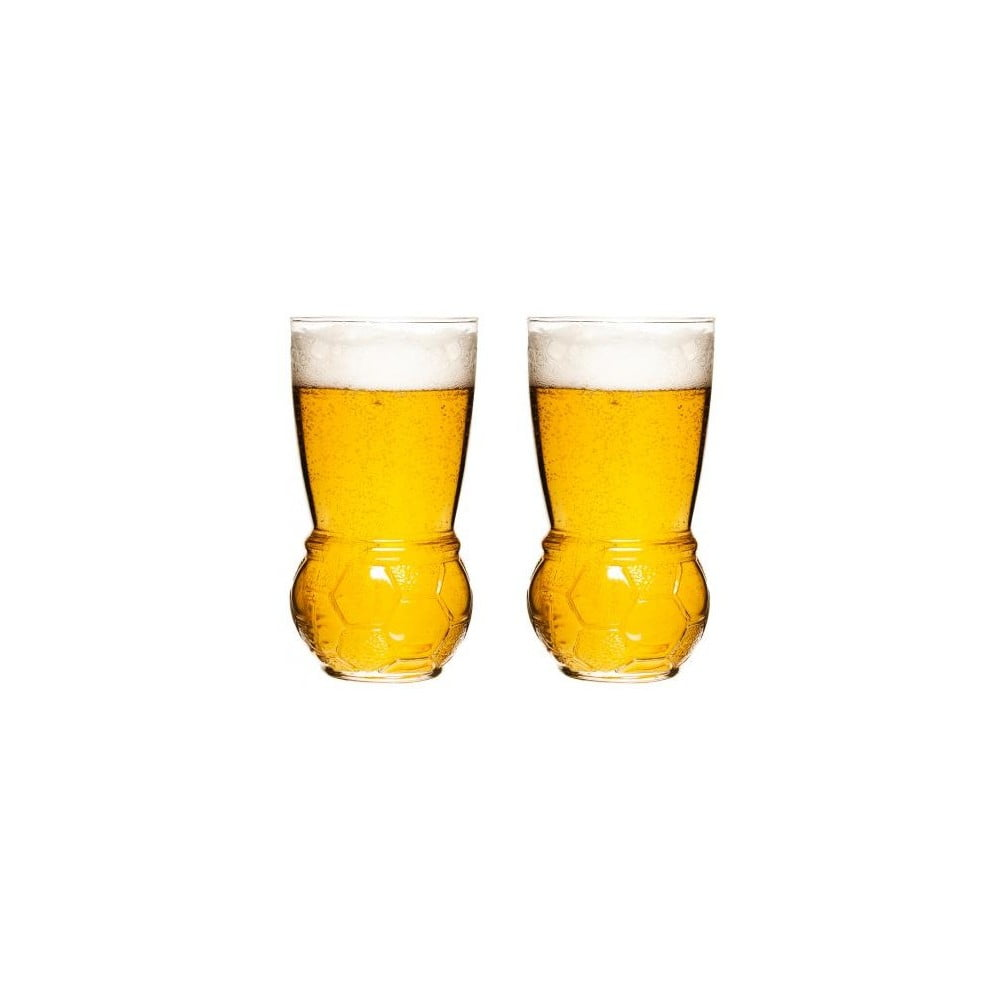 Sada 2 sklenic na pivo Sagaform Football