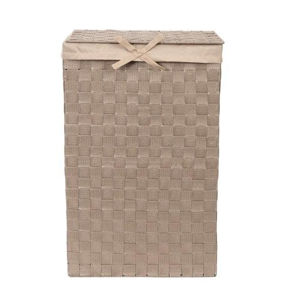 Coș de rufe Compactor Laundry Linen, înălțime 60 cm, maro
