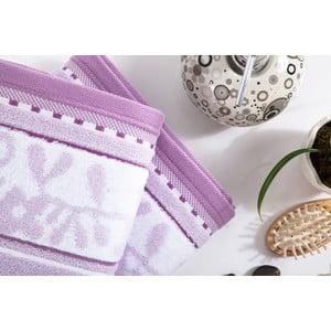 Sada 2 ručníků Ivy Lilac, 50x100 cm