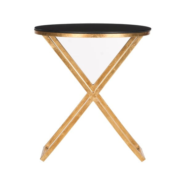 Odkládací stolek Riona, tmavá deska