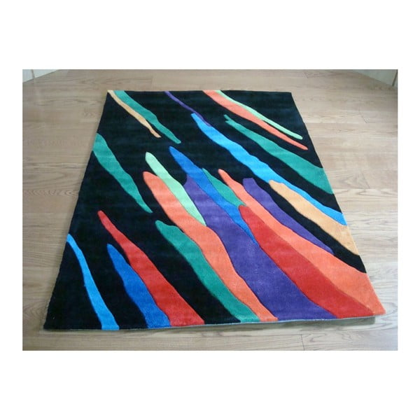 Koberec Artist Black, 80x150 cm