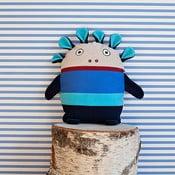 Modrý pyžamožrout Bartex, 35x30cm