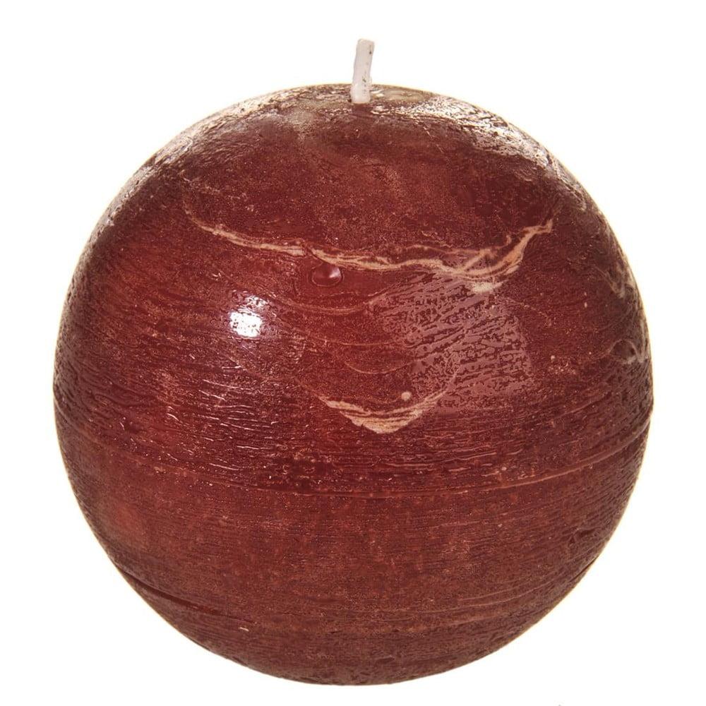 Červená svíčka J-Line Ball