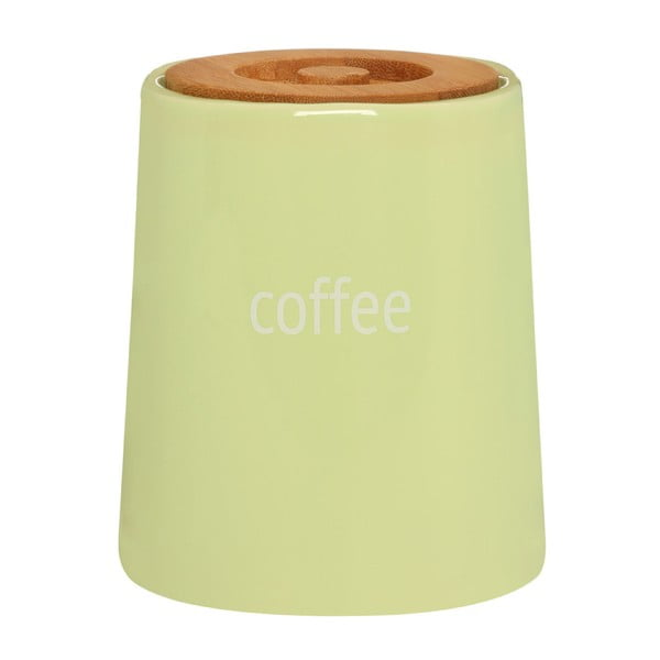 Fletcher zöld kávétartó bambusz fedéllel, 800 ml - Premier Housewares