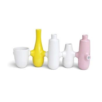 Sfeșnic din ceramică pentru 5 lumânări Kähler Design Fiducia imagine