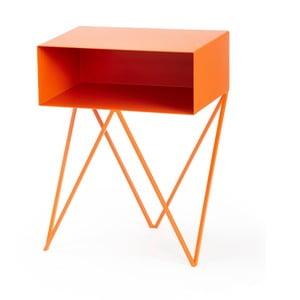 Oranžový příruční stolek &New Robot