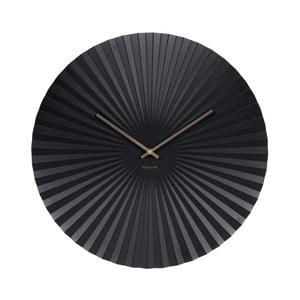 Hodiny v černé barvě Karlsson Sensu, Ø 50 cm