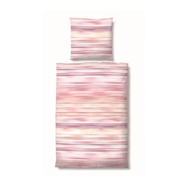 Povlečení Maco Jersey Mix Pink, 155x220 cm