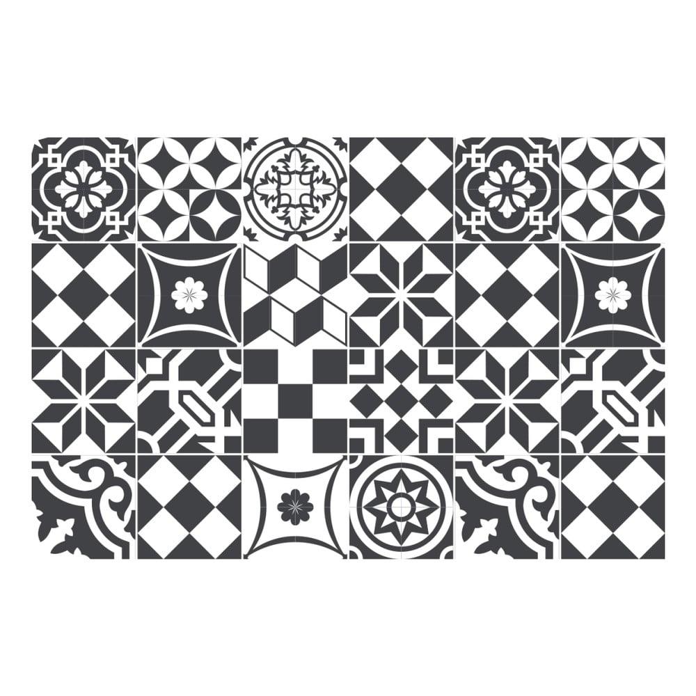 Sada 24 samolepek Ambiance Mosaic, 15 x 15 cm