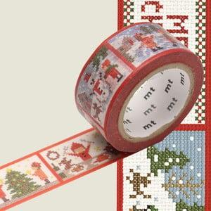 Washi páska MT Masking Tape Stitch