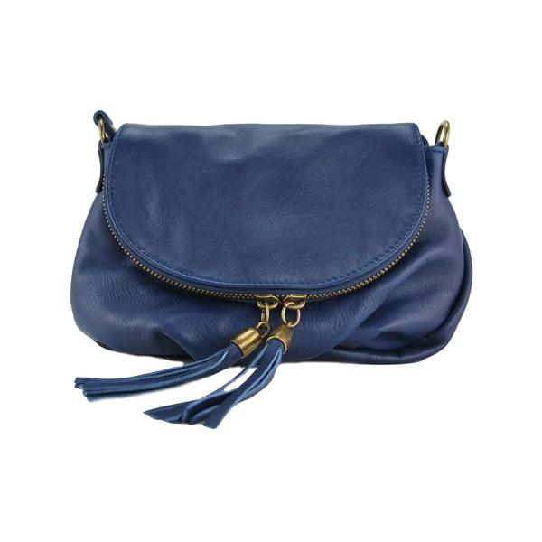 Kožená kabelka Clementis Blue