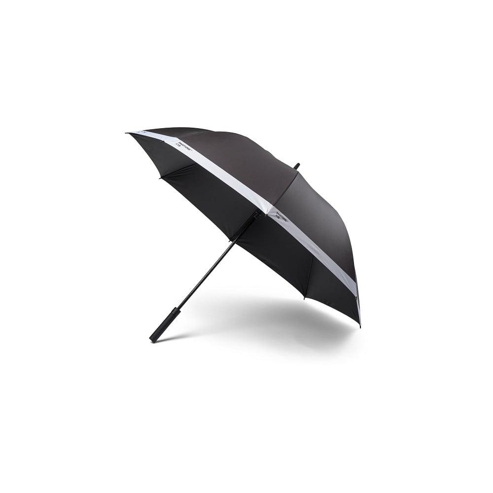 Černý holový deštník Pantone