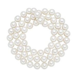 Lănțișor cu perle albe  ⌀ 12 mm Perldesse Muschel, lungime 80 cm